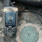 Griffin Lake Peak GPS reading