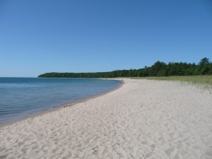 Pancake Bay sand beach