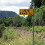 Algoma Central Railway at Jeff Lake Road