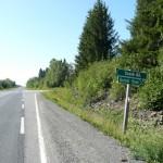 Boreal Road turnoff on 590