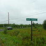 North Sideroad turnoff on 588