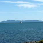 Sleeping Giant seen from Thunder Bay