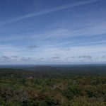View northwest from fire tower