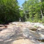 Old logging chute