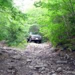 The road near Achigan Lake