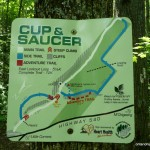 Old Cup and Saucer Trail Map