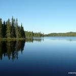 Dawn on Gravel Lake