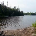 Campsite on Cedar Lake