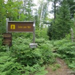 Cobre Lake Trail sign