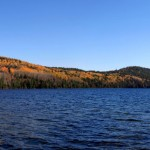 Panoramic of Cobre Lake from the boat launch