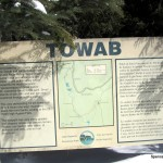Towab Trailhead Sign