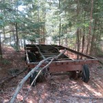 Logging Trailer Remains