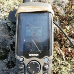 GPS elevation of Grey Owl Peak