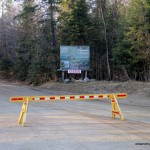 Arowhon Road 'Closed'