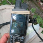 GPS elevation at the summit