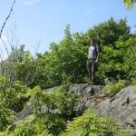 Dan enjoying the panoramic view
