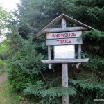 Snowshoe trails trailhead