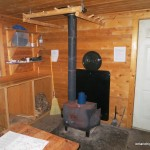 Inside King Mt. Hut