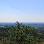 Panoramic from Labelle Lake Peak