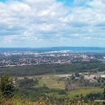 Thunder Bay (as seen from the parking lot lookout)