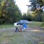 Campsite on Marks Lake