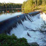 Dam at Prairie Portage