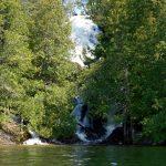 Louisa Falls at Agnes Lake