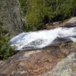 At the top of Louisa Falls