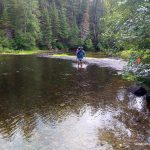 Fording the Sturgeon River